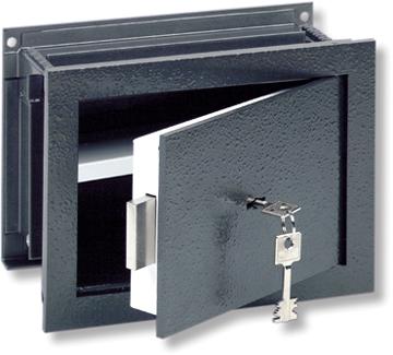 coffre emmurer burgw chter wt 13 s profondeur r glable coffre encastrable. Black Bedroom Furniture Sets. Home Design Ideas